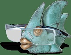 Bronzefigur Fisch von Jagna Weber