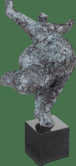 Bronzefigur Balance 28 von Wim Heesakkers