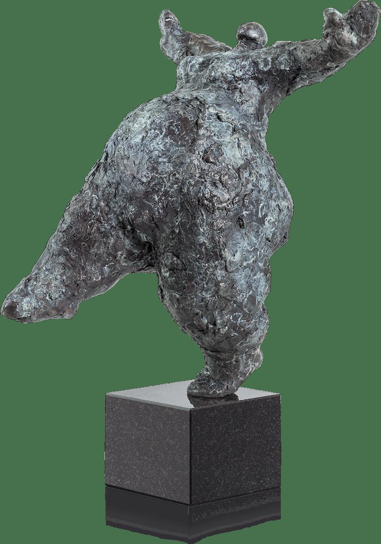 Bronzefigur Balance 29 von Wim Heesakkers